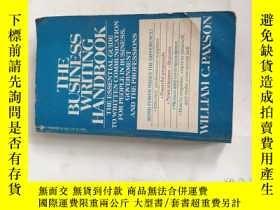 二手書博民逛書店THE罕見BUSINESS WRITING HANDBOOKY9