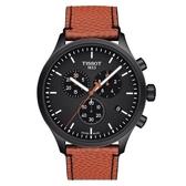 TISSOT天梭表 CHRONO XL NBA籃球聯賽紀念錶(  T1166173605108 )黑/45mm