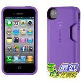 [美國直購] Speck SPK-A1403 Products SmartFlex Card for iPhone 4S - 1 Pack - Retail Packaging - Grape $1408