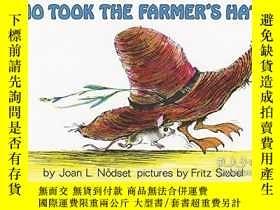 二手書博民逛書店Who罕見Took The Farmer s Hat?Y255562 Joan L. Nodset Harpe