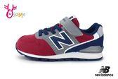 New Balance 996 男童運動鞋 中大童 復古慢跑鞋 O8415#紅藍◆OSOME奧森鞋業