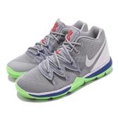 Nike Kyrie 5 PS Wolf Grey Lime 灰 綠 巴斯光年 籃球鞋 Irving 5代 童鞋 中童鞋 運動鞋【PUMP306】 AQ2458-099