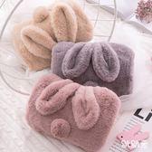 充電熱水袋防爆暖手寶暖寶寶毛絨可愛「潮咖地帶」