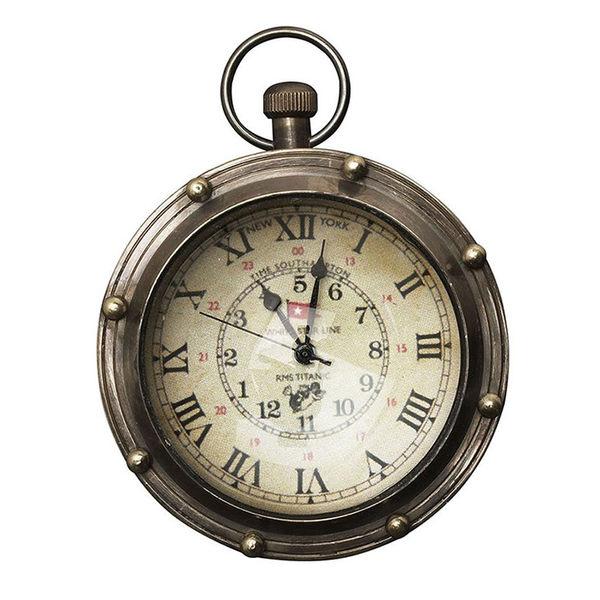 【荷蘭Authentic Models】復古銅製懷錶(古董型懷錶/ 6.5x8.75cm)