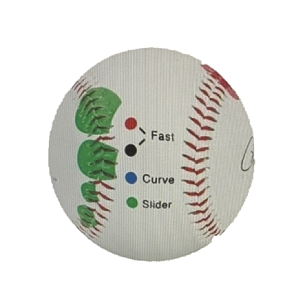 棒球訓練器 投球點 Baseball Pitching Grip Trainer - Easy Color Codes to Learn Multiple Pitch Grips [9美國直購]