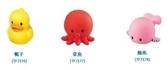 **小饅頭**樂雅 軟膠洗澡玩具-鴨子/章魚/鯨魚 (TR7176/7177/7178)*特價78元