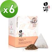 【日濢Tsuie】花蓮4號山苦瓜暖薑茶(10包/盒)x6盒
