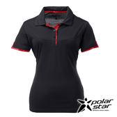 PolarStar 女 涼感銀離子短袖POLO衫『黑』P17152 吸濕排汗│商務休閒服│短袖透氣運動服│涼感衣