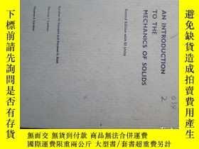 二手書博民逛書店an罕見introduction to zhe mechanic