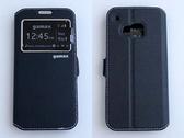 gamax HTC One(M9)/One M9(s)/M9s 磁扣側翻手機保護皮套 側立 內TPU軟殼 視窗商務系列