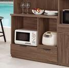 【森可家居】諾艾爾3.3尺收納櫃下座 8CM906-2 餐櫃 廚房櫃 碗盤碟櫃 木紋質感 北歐工業風