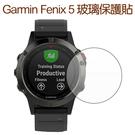 【玻璃保護貼】Garmin Fenix 5  智慧手錶高透玻璃貼/螢幕保護貼/強化防刮保護膜-ZW