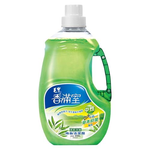 香滿室 中性地板清潔劑 清新茶樹 2000g