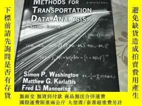 二手書博民逛書店Statistical罕見and Econometric Methods for Transportation D