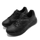 Asics 慢跑鞋 Gel-Contend 5 SL 4E Extra Wide 超寬楦 黑 全黑 男鞋 皮革鞋面 運動鞋 【ACS】 1131A035001
