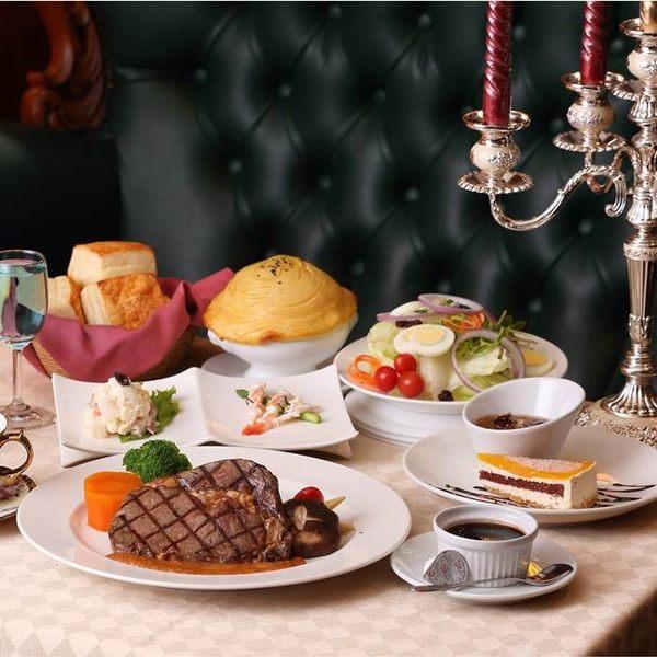 【宜蘭】伯斯飯店茶水巴黎西餐廳-經典排餐雙人券
