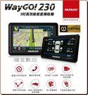 送原廠飛盤扇【福笙】PAPAGO WAYGO 230 智慧型 GPS衛星導航 支援TPMS胎壓偵測器