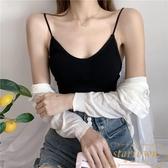 [兩件裝] 內衣女無鋼圈薄款打底裹胸抹胸式文胸美背吊帶小背心【繁星小鎮】
