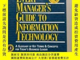 二手書博民逛書店Every罕見Manager s Guide to Inform