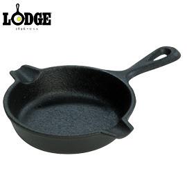 丹大戶外【LODGE】Spoon Rest迷你3.5吋荷蘭鑄鐵平底煎鍋/家家酒煎蛋鍋/超小奶油鍋/可當煙灰缸 LAT3
