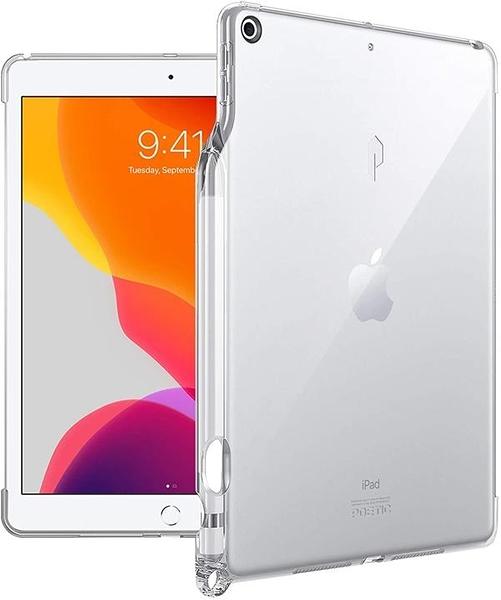 【日本代購】Poetic Lumos Series Apple 蘋果 iPad 第7/8代保護殼(2020款 TPU材質 保護殼 水晶透明
