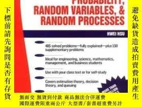 二手書博民逛書店Schaum s罕見Outline Of Probability, Random Variables, And R