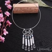 瓔珞項圈 新款古典純銅保色項鍊中式日常漢服配飾品 - 雙十一熱銷