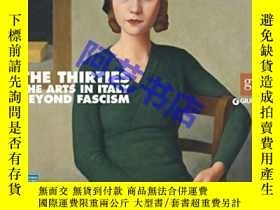 二手書博民逛書店The罕見Thirties: The Arts in Italy