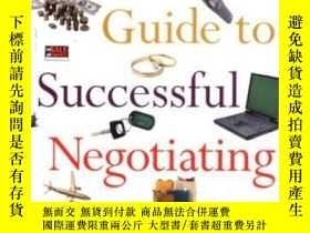 二手書博民逛書店A罕見Woman s Guide To Successful NegotiatingY364682 Lee E