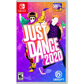 [哈GAME族]免運費 可刷卡●40首排行榜全新歌曲●NS Just Dance 舞力全開 2020 美版 中文版