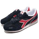 DIADORA 復古慢跑鞋 Titan II 藍 紅 基本款 經典款 運動鞋 男鞋【PUMP306】 DA158623C2546