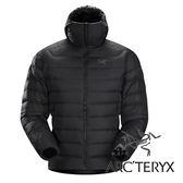 【Arc'teryx 始祖鳥】男 Thorium AR 羽絨外套 (防潑水處理.膨脹係數750.超輕)『黑』L065249 保暖外套