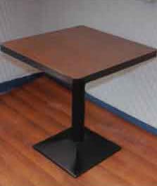 【南洋風休閒傢俱】桌椅桌腳系列-75美耐板圓/方桌 休閒桌 洽談桌 餐桌(589-12-10)