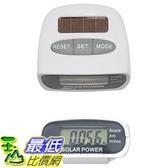 [美國直購] Sun Ecolinq Solar Pedometer 太陽能 計步器 _T01