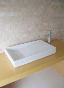 【麗室衛浴】杜邦 三星 LG 壓克力人造石 造型面盆 MILD 6438 CW 訂製品