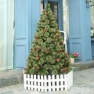 圣誕樹1.5米裸樹豪華加密全鬆針樹噴金粉圣誕樹圣誕節裝飾品 QQ14382『東京衣社』