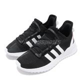 adidas 慢跑鞋 U_Path Run C 黑 白 休閒鞋 黑白 童鞋 中童鞋 運動鞋【PUMP306】 G28116