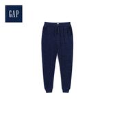 Gap女童 柔軟休閒鬆緊腰長褲495568-海軍藍色