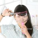 【萊爾富199免運】日韓升級版DIY齊瀏海梳子 修剪神器 瀏海梳子 美髮梳 剪髮器 妹妹頭剪髮