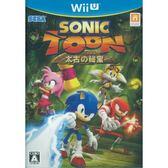 Wii U-二手片 音速小子 太古秘寶 日文版 PLAY-小無電玩