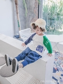 長袖上衣 寶寶長袖T恤男1-3歲潮韓版男童秋裝小童上衣兒童T恤男寶寶25 童趣潮品