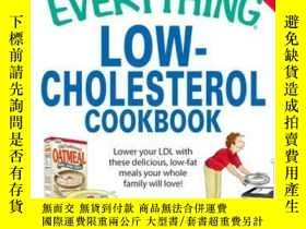 二手書博民逛書店The罕見Everything Low-Cholesterol CookbookY410016 Linda L