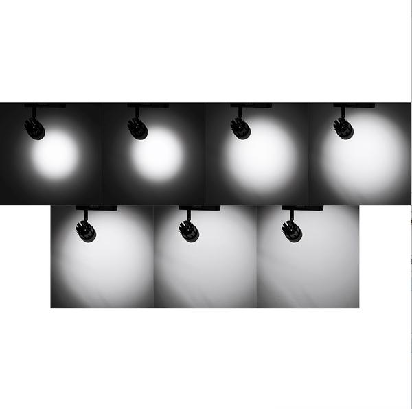 ◎相機專家◎ Skier 30W/5600K 調光藝術鑑賞用軌道燈 黑 白光 聚光調整 台灣製造 AAA523 公司貨