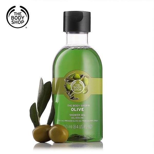 THE BODY SHOP橄欖活化沐浴膠(250ML)百貨專櫃正貨 0316122513