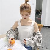 純色打底衫背心上衣女裝學生衣服