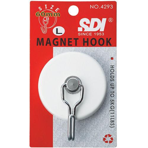 SDI磁鐵掛勾(大60mm/可懸掛5kg)【愛買】