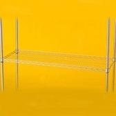 特力屋 鍍鉻耐重型波浪架鐵網 122x46cm