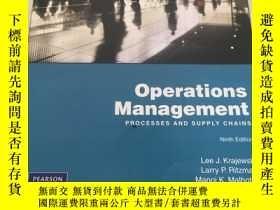 二手書博民逛書店Operations罕見Management PROCESSES