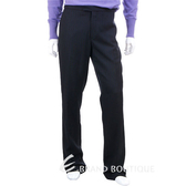 KENZO 直條紋西裝褲(黑色) 0580013-01