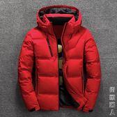 反季冬季新品男士加厚羽絨服白鴨絨短款保暖外套韓版潮男 街頭潮人
